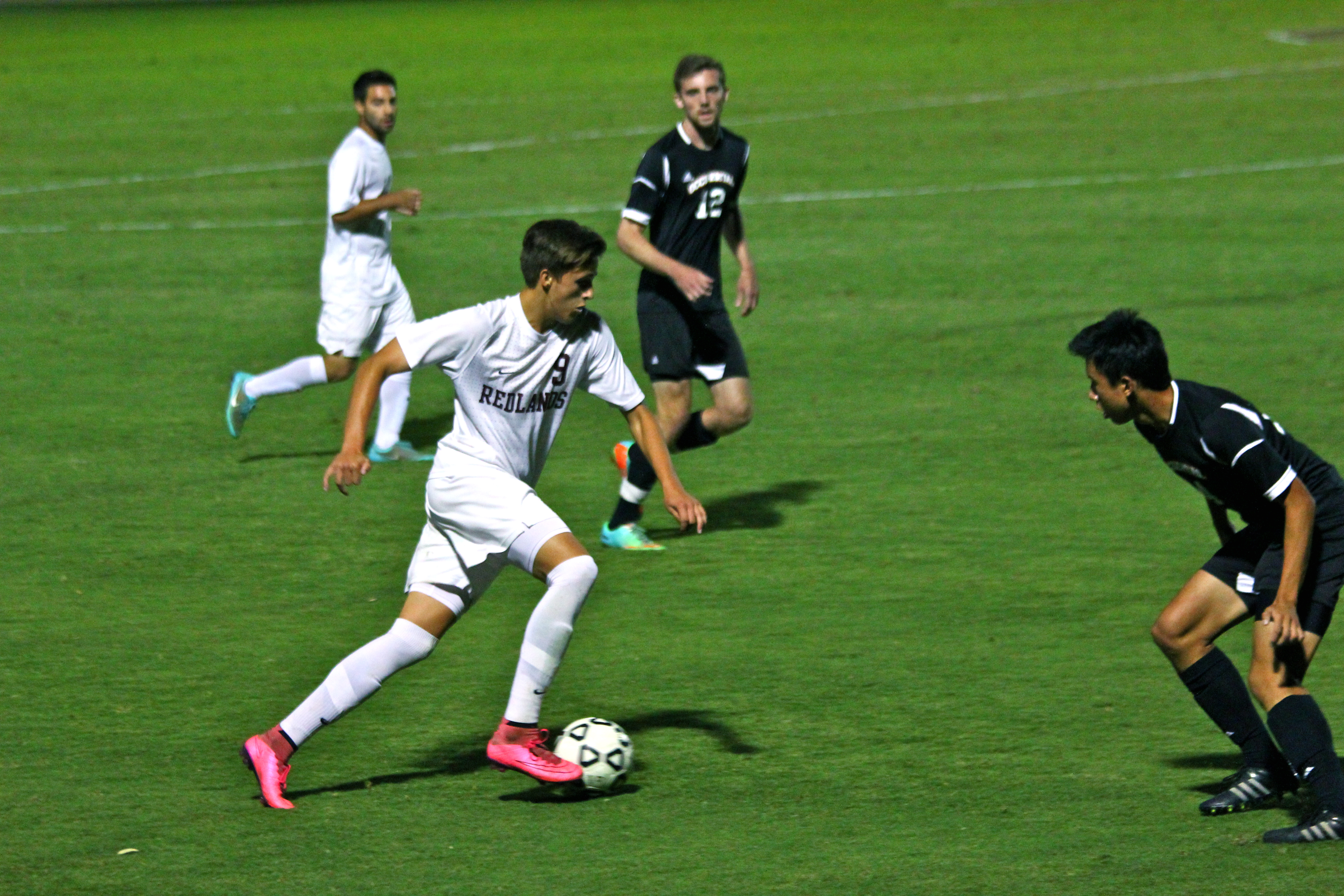 Men's Soccer Stays in First After Huge Win