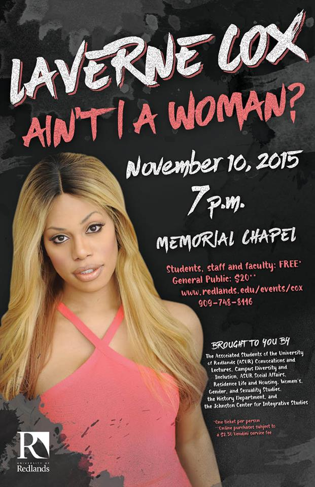 "Laverne Cox ""Ain't I A Woman? My Journey to Womanhood"""