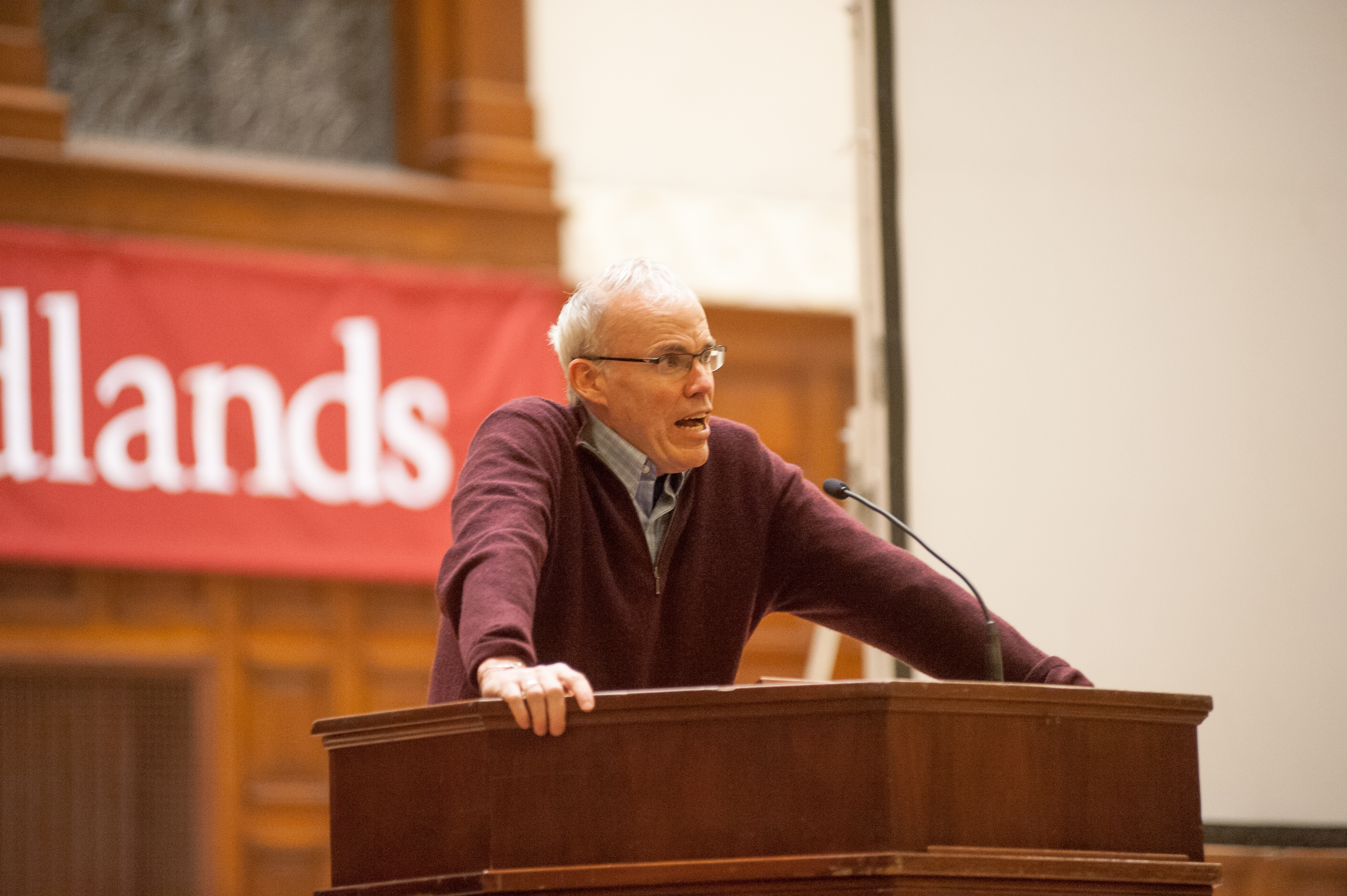 There is Nothing Radical about Environmentalism: Bill McKibben Educates Redlands on Climate Change