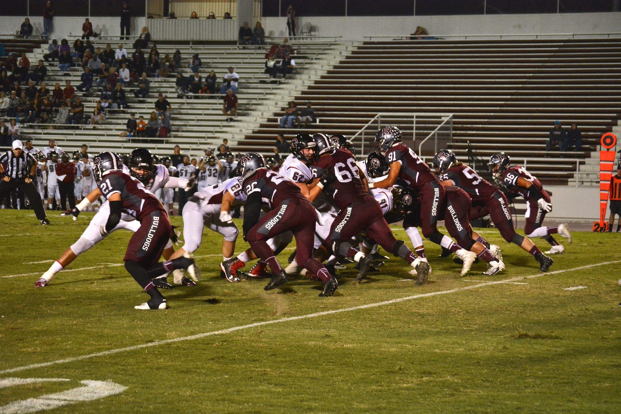 Football Beats Chapman with Strong Second Half