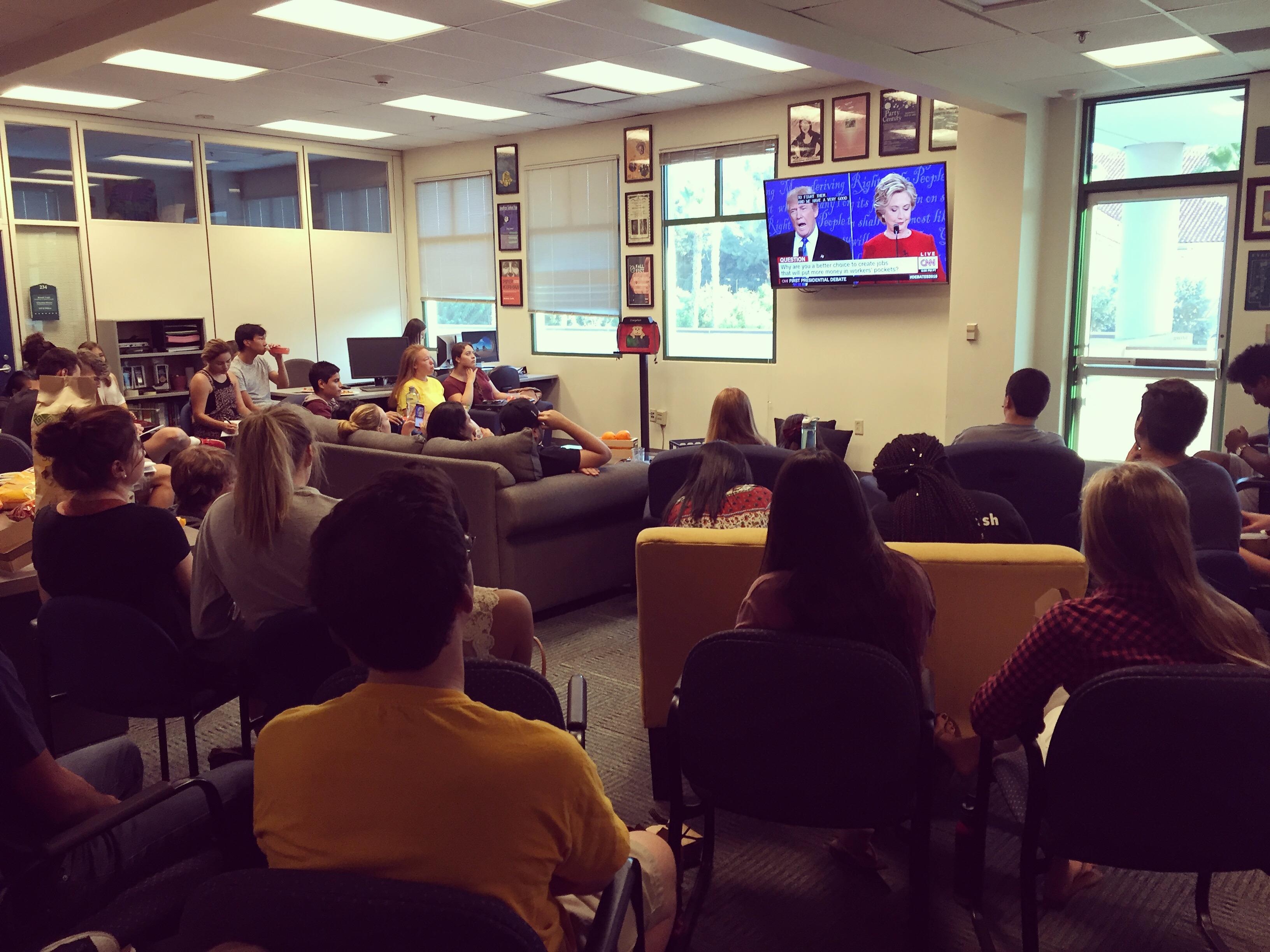 First Presidential Debate, From Conservative and Liberal Voices