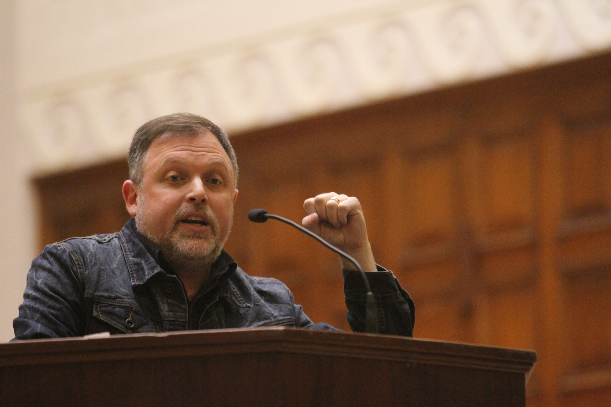Tim Wise Speaks at the University of Redlands