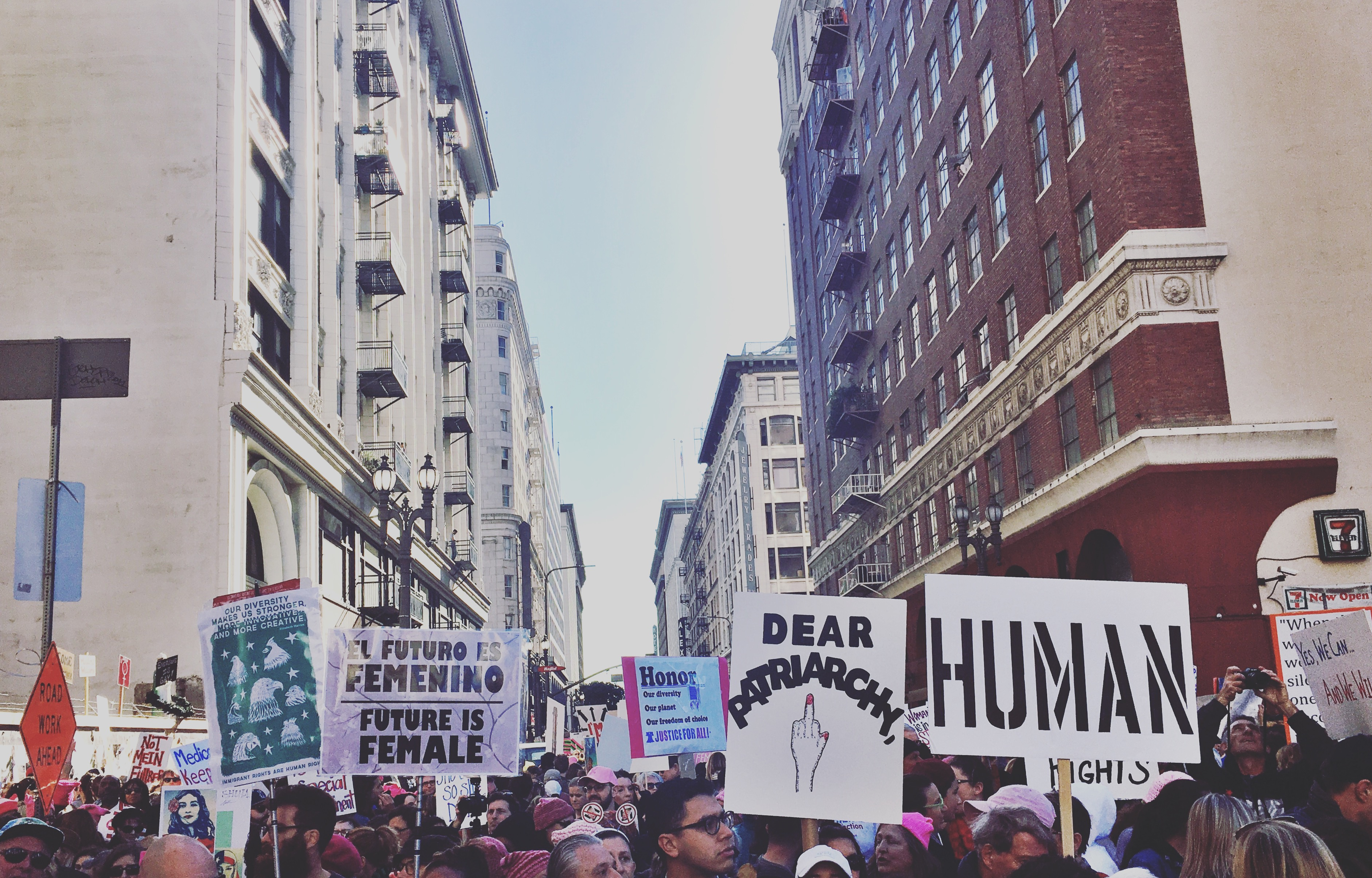 Together, We Rise: Los Angeles Women's March