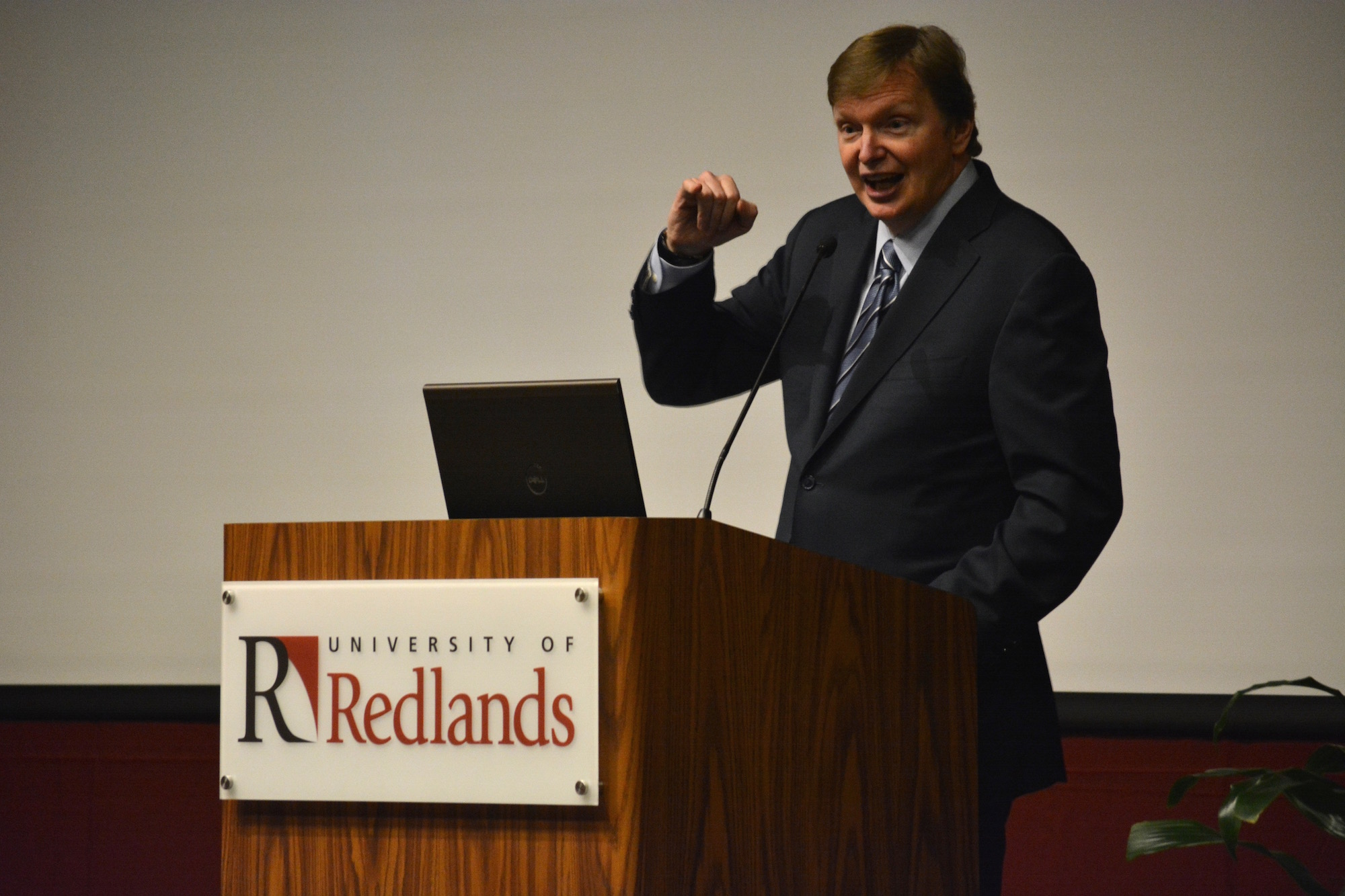 Jim Messina Speaks at University of Redlands
