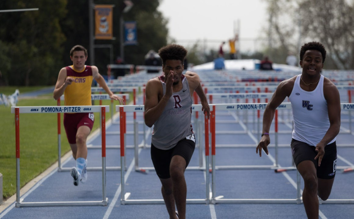 After combatting injury, Cameron Smith crossed the finish line of his first 110-meter hurdle race.