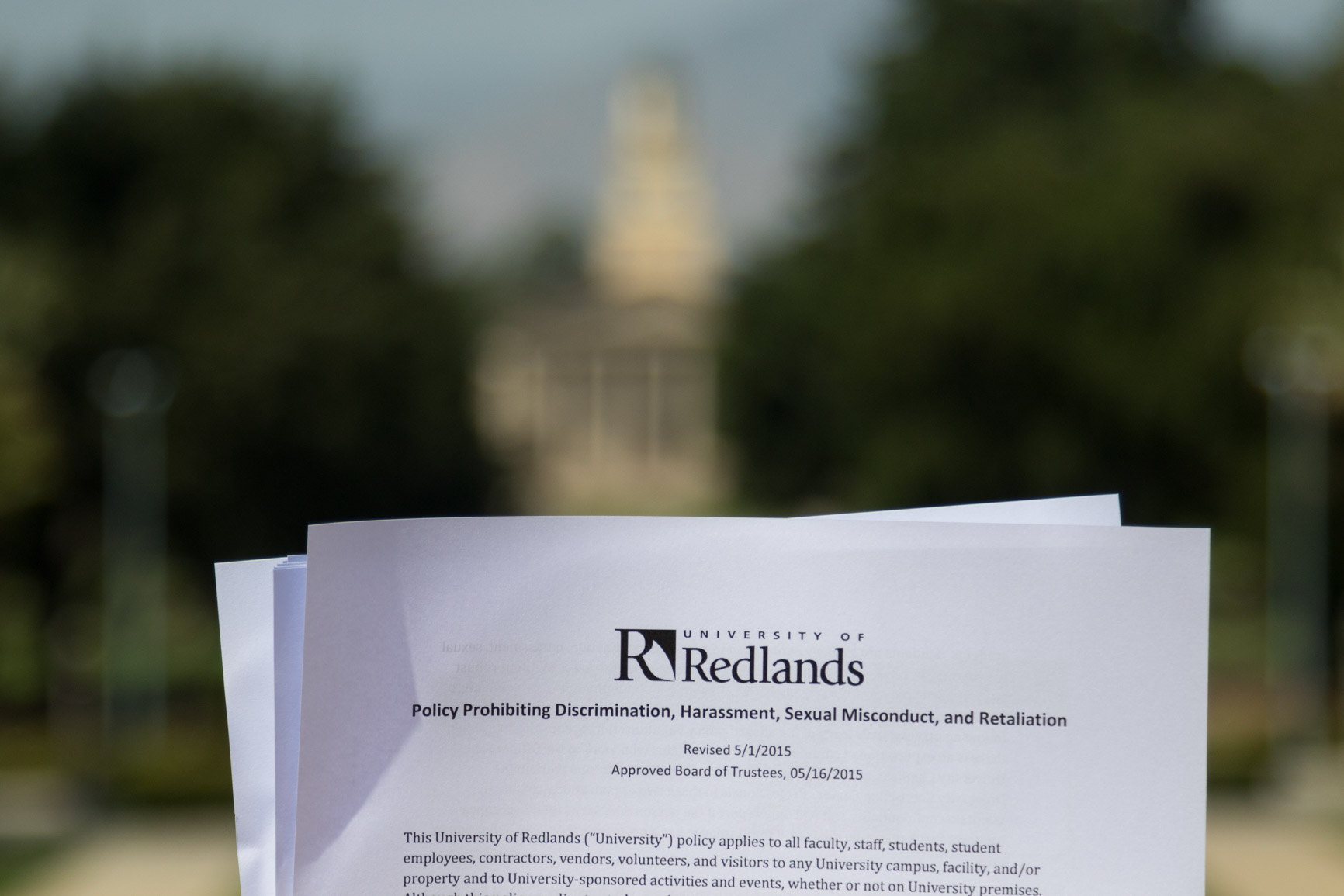 Title IX Policy at the University of Redlands Explained