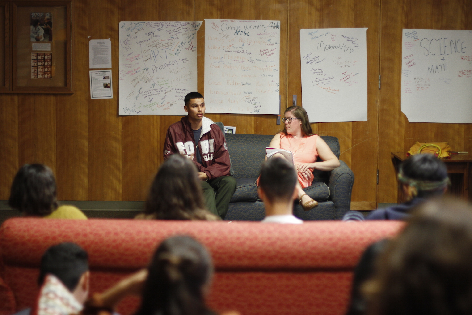 Learning from Alumni: Life after Johnston Graduation