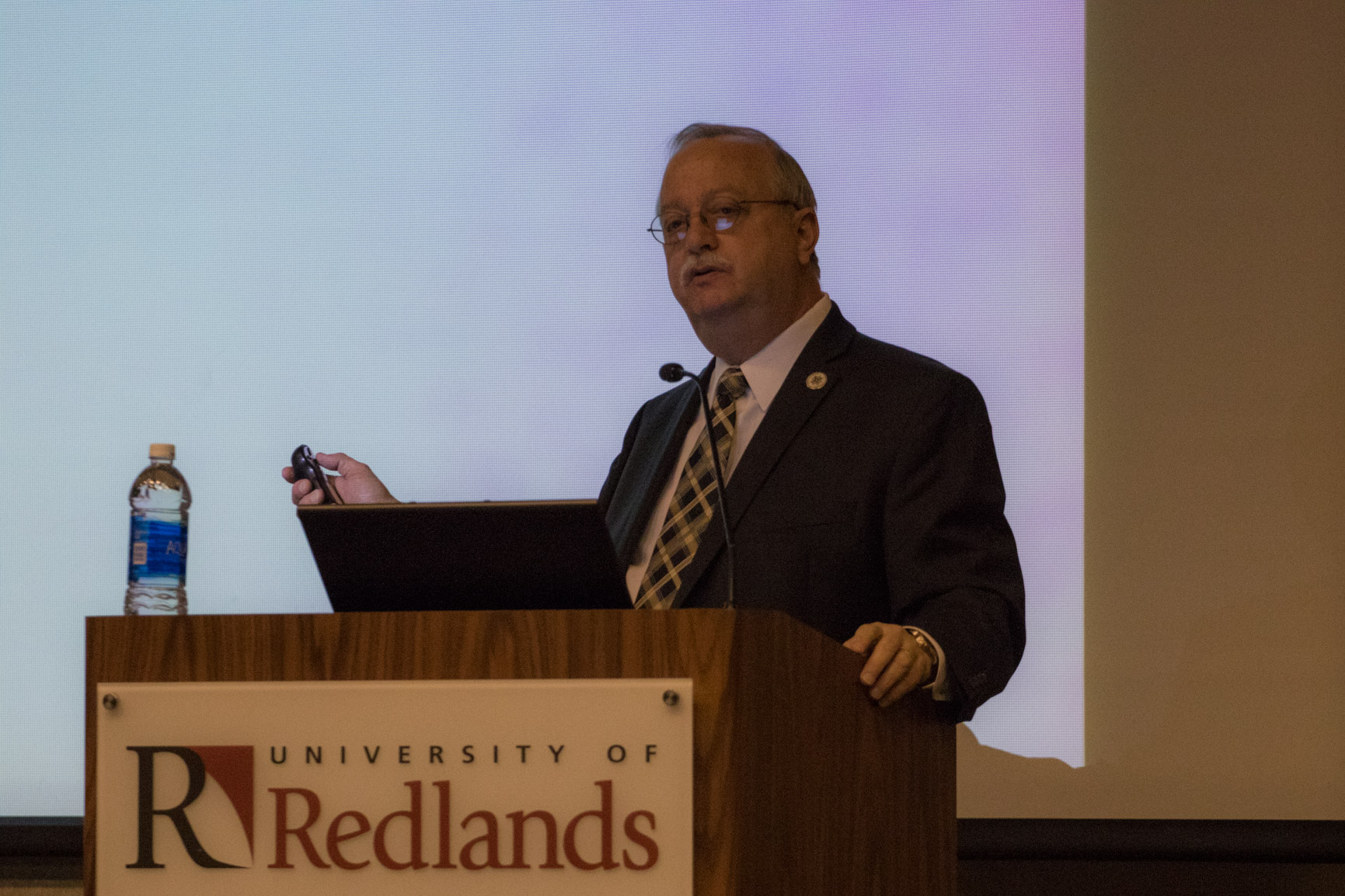 "Mayor of Redlands Speaks at the University: Gives ""Report Card"" on the City"