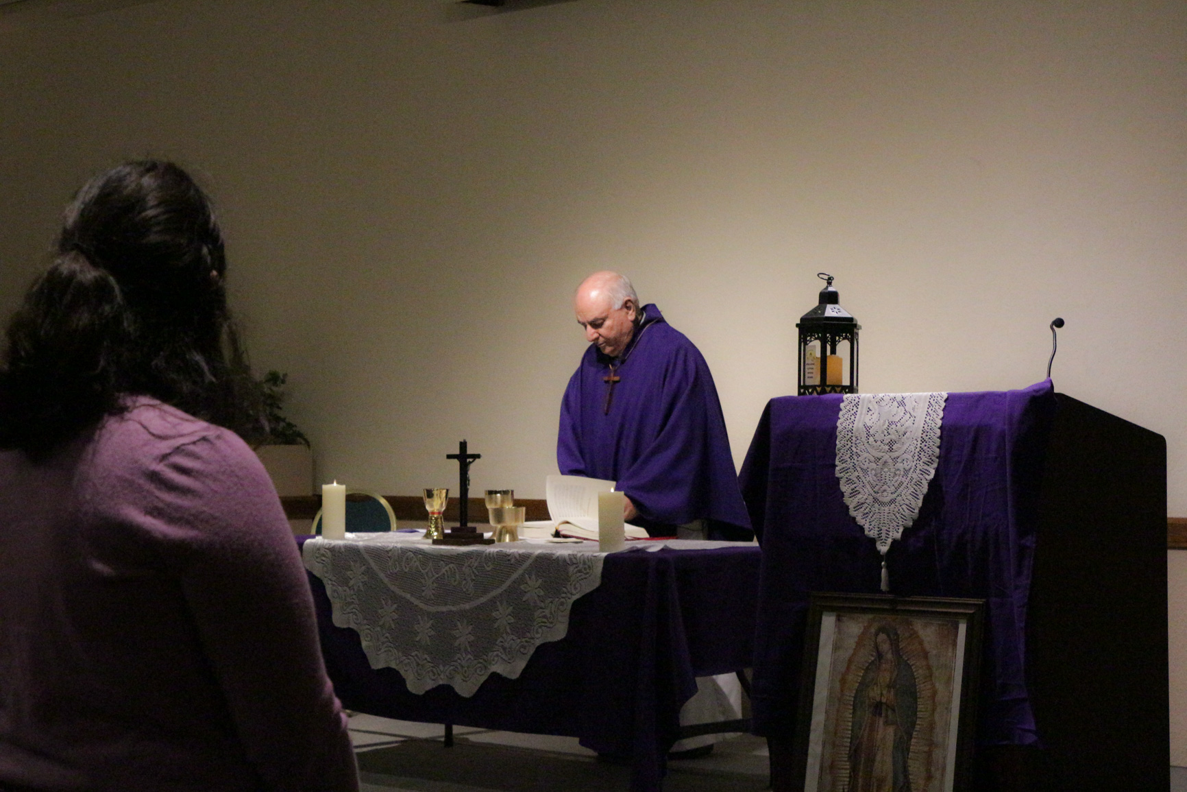 THE CATHOLIC NEWMAN CLUB HOSTS ASH WEDNESDAY