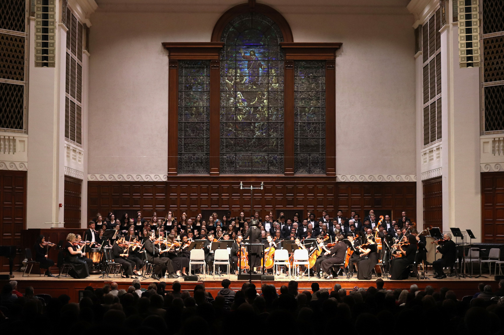 UNIVERSITY OF REDLANDS' ORCHESTRA PERFORMS 9TH SYMPHONY