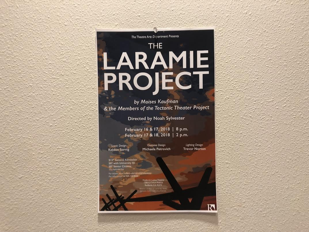 THE LARAMIE PROJECT: AN UNFORTUNATELY RELEVANT STORY IN 2018