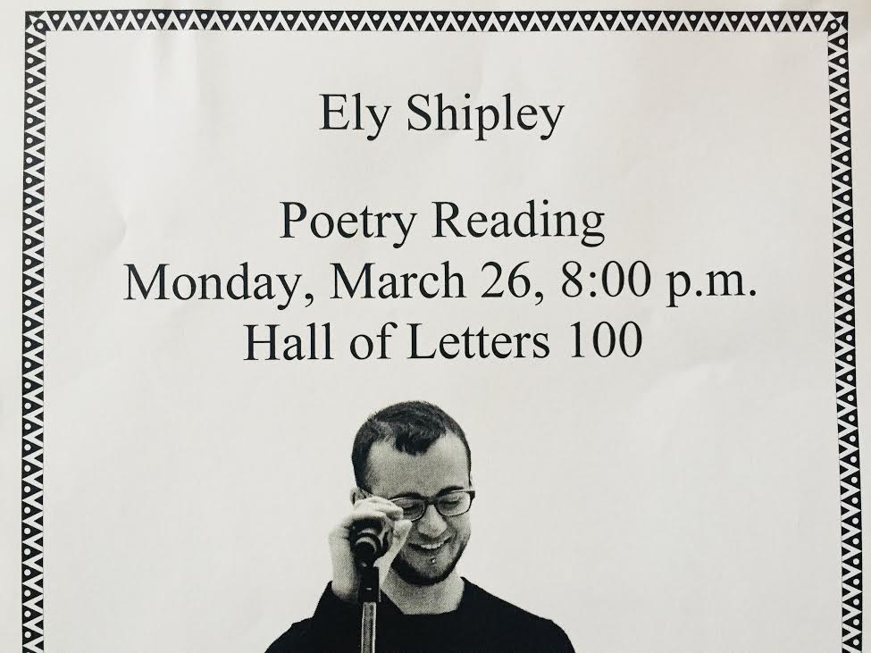 JOHNSTON ALUMNI ELY SHIPLEY TO SPEAK THIS MONDAY