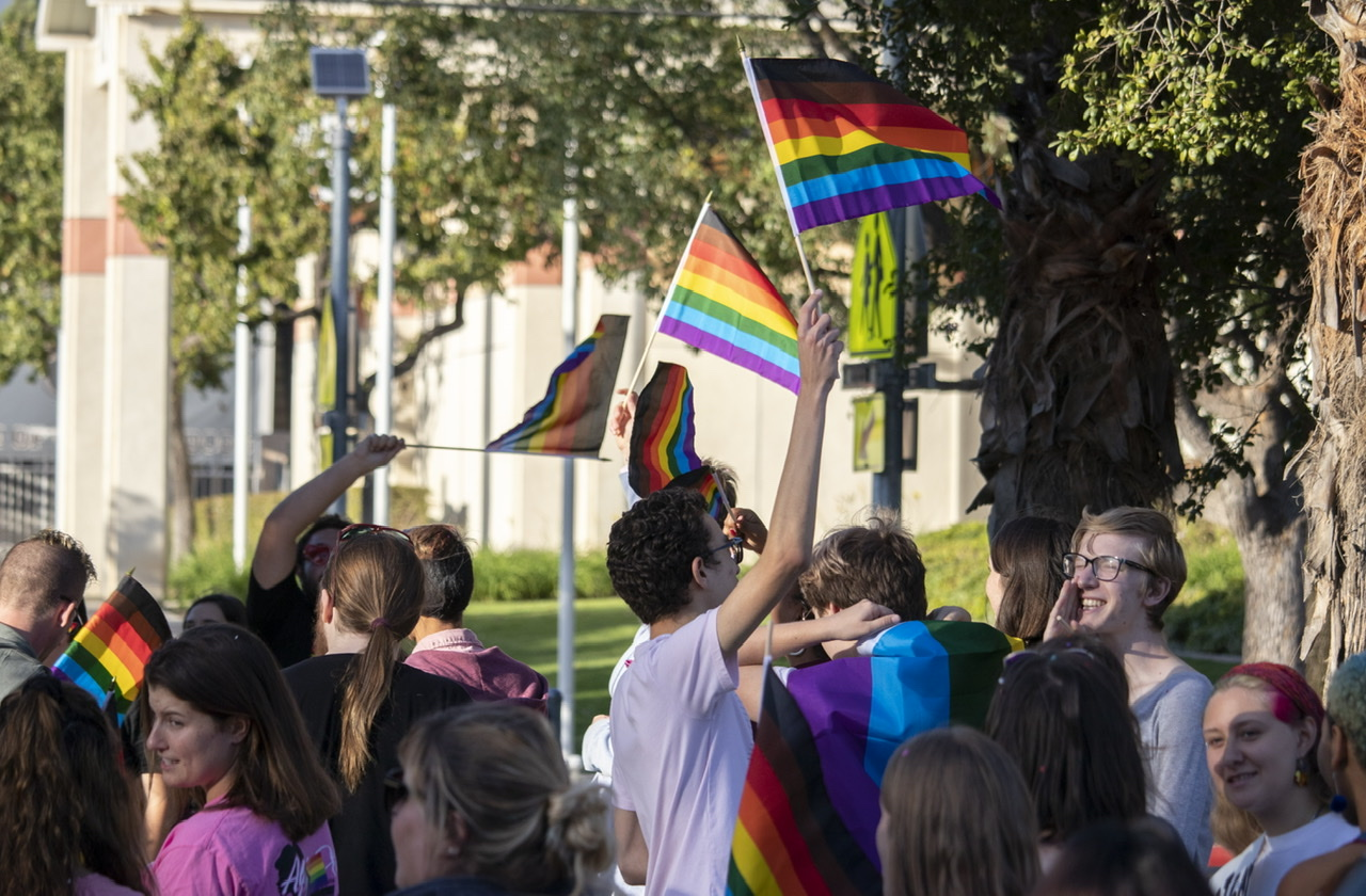 Diversity Pride Parade at the University of Redlands