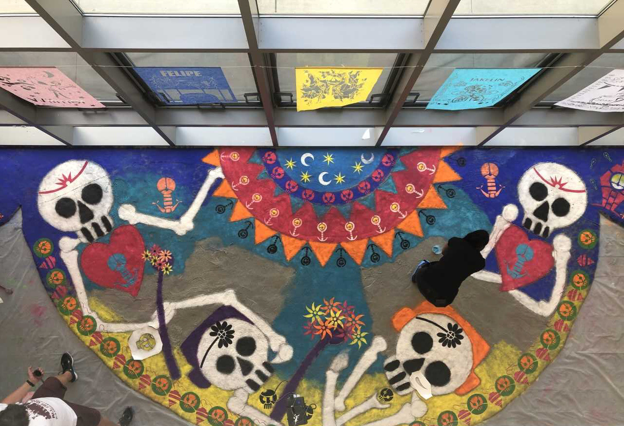 Oaxacan sand art: Remembering children lost at U.S. border detainment centers