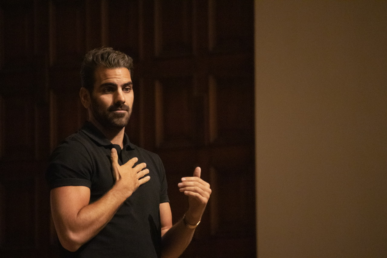 Nyle Dimarco at Redlands: A Voice of Silence