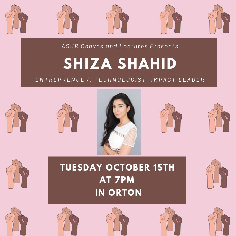 Empowered Women Empower Women: Shiza Shahid at the University of Redlands